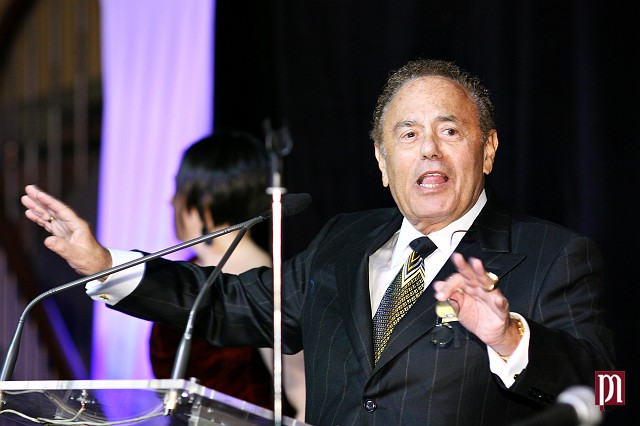 former mayor of Toronto - Mel Lastman at Russian Business Gala 2008
